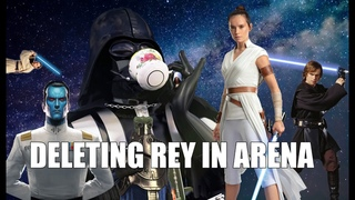 Deleting Rey with Darth Vader lead