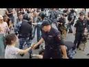 Избиение мирных людей в Москве у Детского мира.27.07.2019