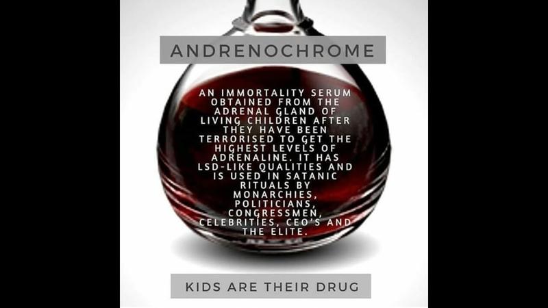Adrenochrome Drug and Satanic Ritual Abuse