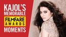 Kajol's Best Filmfare Awards Moments Kajol Best Actress Kuch Kuch Hota Hai Birthday Special