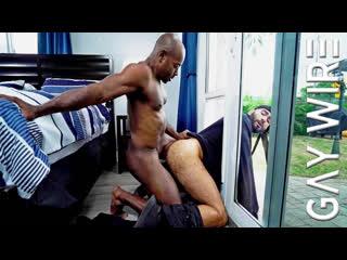 Gaywire — home invasion turns to ass invasion — aaron trainer & rikk york