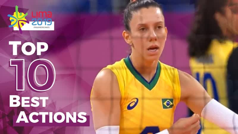 TOP 10 Best Actions by Macris Carneiro Pan American Games LIMA 2019