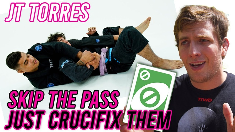JT Torres Shows How to Pass Submit In the Crucifix Keenan Teaches You a New Way To Make Lemonade