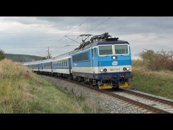 Vlaky Luleč 4 10 2019