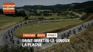 Critérium du Dauphiné 2021 - Découvrez l'étape 7