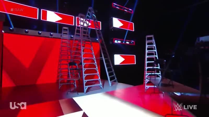 Seth Rollins vs Baron Corbin WWE Raw TLC Match For The WWE Intercontinental Championship WWE Raw 12/10/18