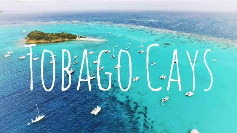 Droning in the Tobago Cays SY7seas