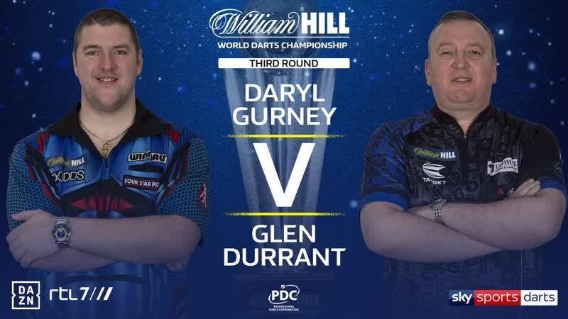 2020 World Darts Championship Round 3 Gurney vs Durrant