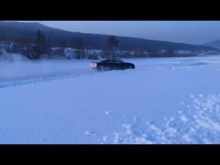 Raevsky A.D. TOYOTA CHASER DRIFT TOURER on UST-KUT ICE TRACK
