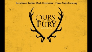 House Baratheon Tactics Deck Deep Dive - A Song of Ice and Fire: The Miniatures Games - 3SG