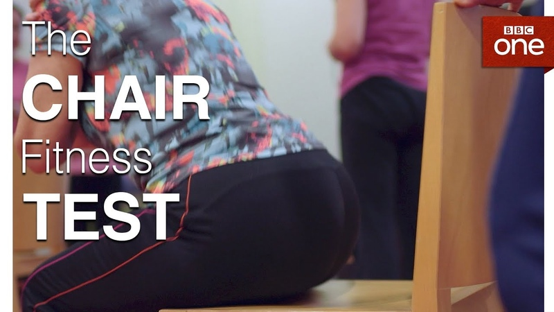 How Fit Are You The Chair Test - The Truth About Getting Fit - BBC One