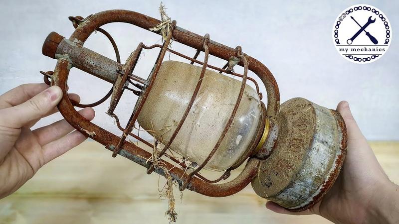 Barn Find Oil Lamp Perfect Restoration