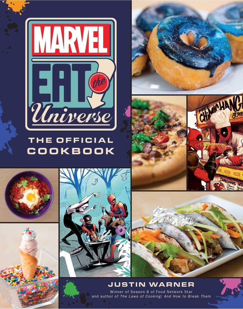 Паста с языком Венома и гоблинские бомбочки — кулинарная книга вселенной Marvel, изображение №3