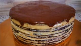 Шоколадный медовик с ДВУМЯ видами крема. Торт СПАРТАК рецепт. Пряники на палочке для декора