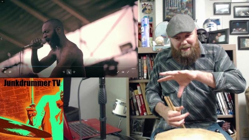 Drum Teacher Reacts to Zach Hill Death Grips Guillotine Episode 56