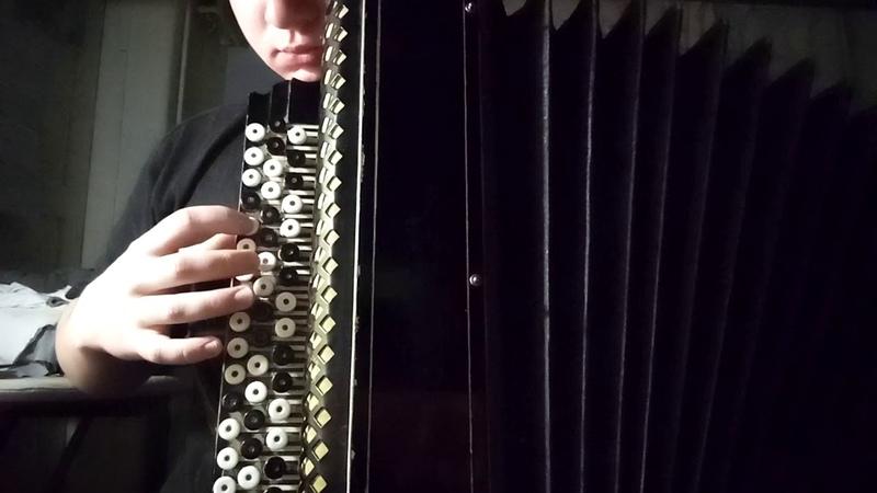 Ангельская пыль АРИЯ cover на баяне от Леонида Дубинина