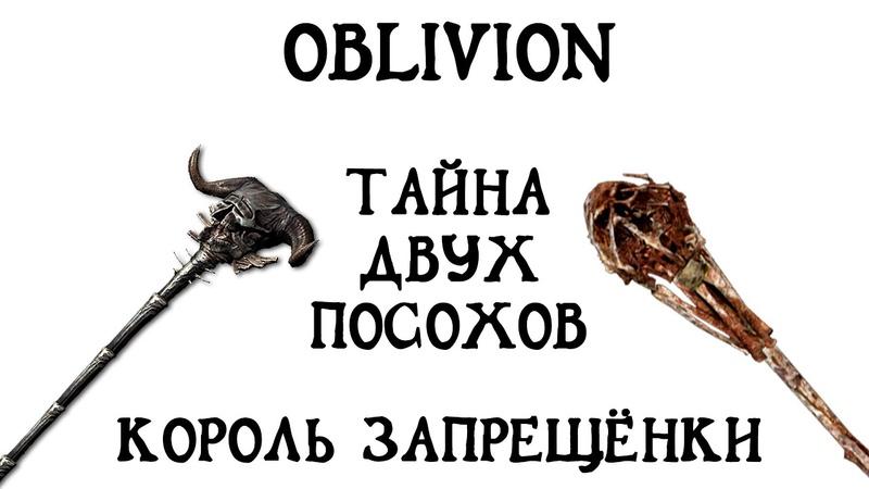 Oblivion 33 НедоПолуЛегальныйСцукоЧит Король запрещёнки Тайна двух посохов Гайд