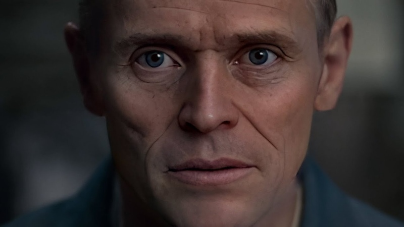 Willem Dafoe as Hannibal Lecter [DeepFake]