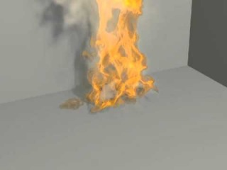 Fire animated