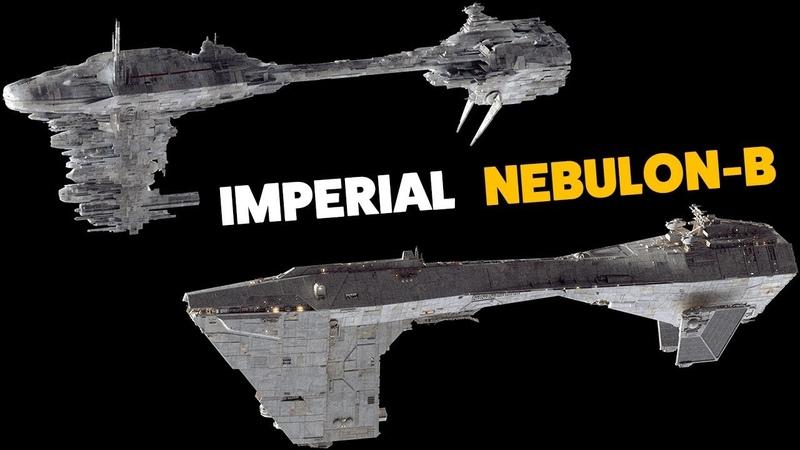 The IMPERIAL Nebulon B Frigate Fan design