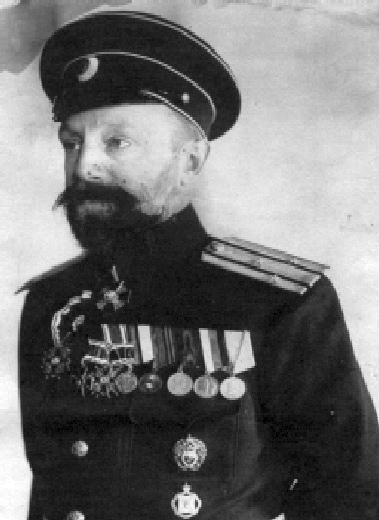 Сергей Александрович Янович (1877-1935). Автор проекта полуподводной лодки «Кета», на которой 01 июля 1905 года атаковал японские миноносцы в проливе Невельского.