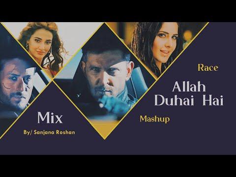 Allah Duhai Hai Mashup Hrithik Roshan Tiger Shroff Katrina Kaif Disha Patani VM Race Mix