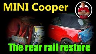 MINI Cooper. The rear end restore. Ремонт задней части.