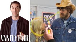 Sacha Baron Cohen Breaks Down 'Borat Subsequent Moviefilm's' Cake Scene | Vanity Fair