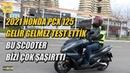 2021 Honda PCX 125 Sürüş Testi Hayat Motorla Güzel