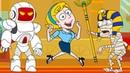 ПОМОГИТЕ СПАСТИ ДЕВУШКУ 2 9 Финал Игры Clue Hunter. Кид против Мумии Save the girl 2 на крутилкины