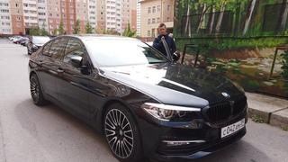 Самая дешевая BMW G30 на рынке, после аварии!