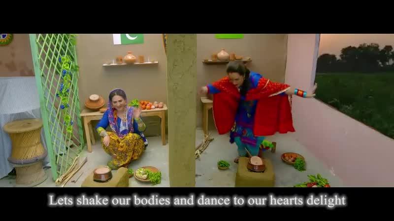Bushra Ansari and Asma Abbas Special Clip About Pakistan And India