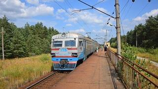 Селище Лісове   ЕР9Т-4009 ЕР9Т-4055   Поїзд № 6855 Чернігів - Неданчичі
