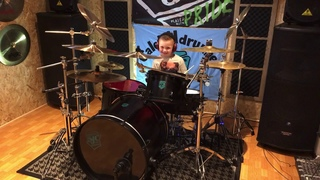 Evanescence- Bring Me To Life -Drum Cover. Caleb H (Age 6)