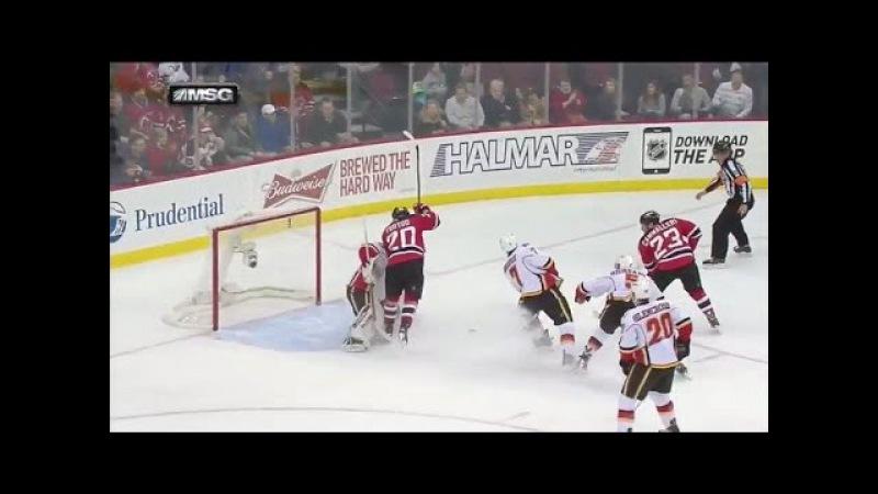 Cammalleri slides one five hole on backhand