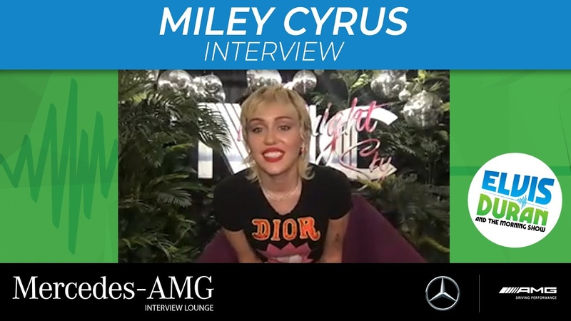 Miley Cyrus Chats Self-Directing Midnight Sky Music Video, New Pets, And More | Elvis Duran Show
