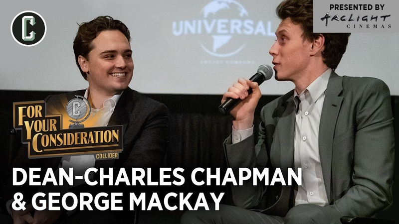 1917 Stars Dean-Charles Chapman George MacKay: Collider FYC Screening Series presented by Arclight