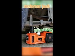 Электрический гидравлический домкрат, поднимает вес до 5 тонн