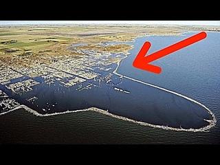 Этот город поднялся с 10 метровой глубины! Вот что увидели люди через 25 лет после затопления