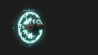 Blender 3D Animation - Railjack