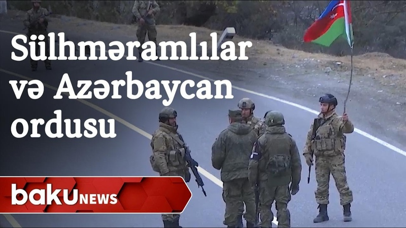 Rus sülhməramlıları ilə Azərbaycan hərbçiləri Kəlbəcərdə görüşdü