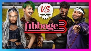 DaParty, Riott Squad and Street Profits play Jackbox Party FIBBAGE 3