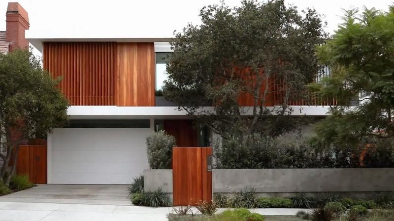 Montalba Architects Vertical Courtyard House