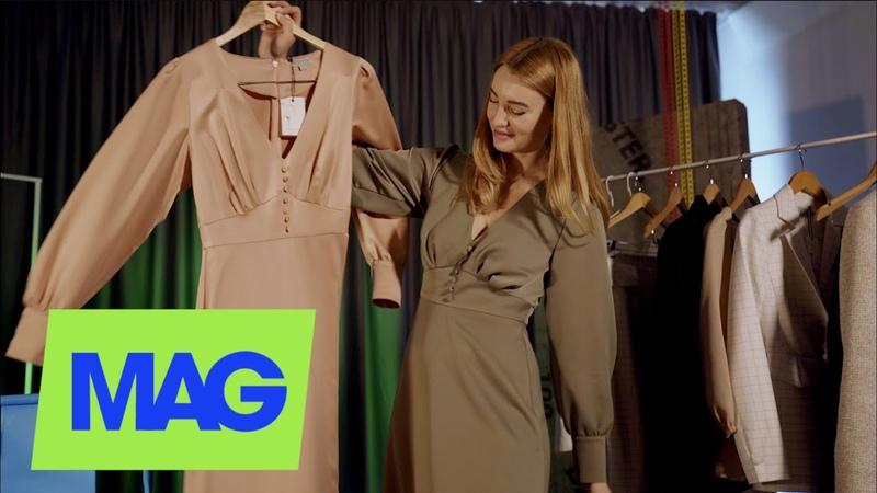 Бабушкины журналы о моде платья 50 х и влияние Ульяны Сергиенко Алена Тонконог о бренде Poemma