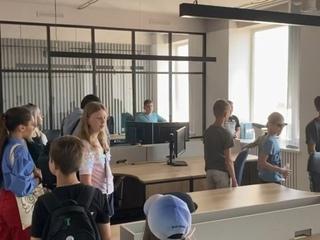 Компьютерная  академия Шаг в гостях у Codemasters International