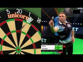 Gerwyn Price vs Daryl Gurney (PDC Premier League Darts 2020 / Week 14)