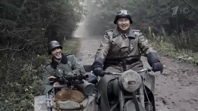 ERA Матерый волк против шестерых фашистов Отрывок фильма Наркомовский обоз 2011г