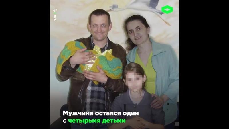 Военнослужащий Антон Третьяков ходит на службу с 11-месячным сыном