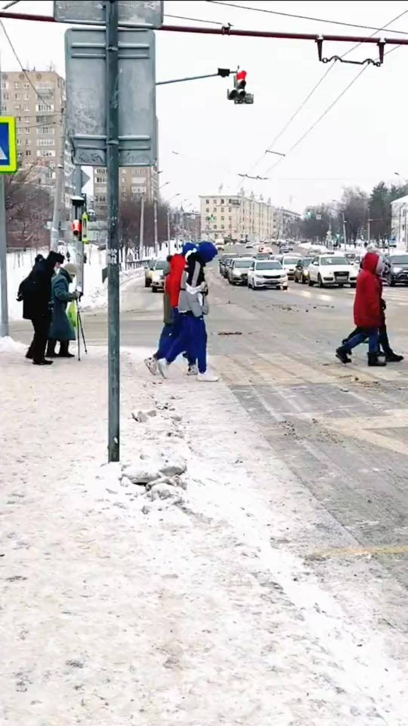 Переход улицы