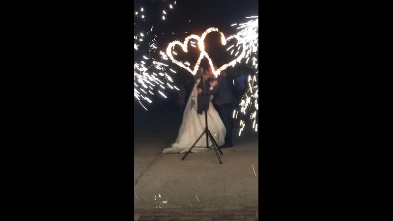 Удивительно красивое завершение свадьбы 💞💥Дмитрия и Ангелины💥💞